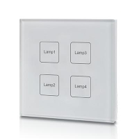 Touch Control DALI Master Dimmer Switch - Click for more info