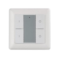 RGBW Push Button DALI DT8 Control Panel (4CH) - Click for more info